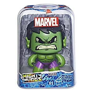 Mighty Muggs- Figura Coleccionable de Marvel, Hulk, Estándar (Hasbro E2165EU4)