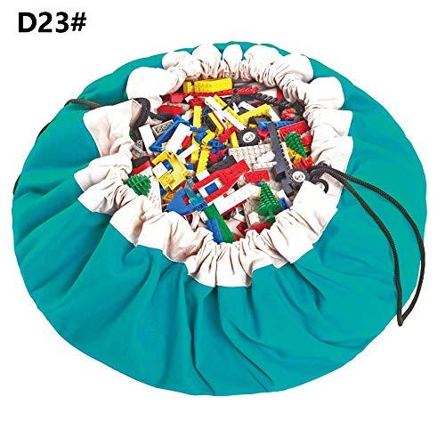 Sac de jouet pour enfants pur coton corde de dessin rapide jouant bébé rampant tapis de jeu couverture, dix-huit