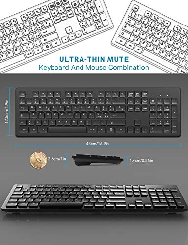 Zoom IMG-1 tedgem tastiera e mouse wireless