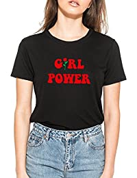 874028489619 MINGA LONDON Girl Power T-Shirt Tee Top Women s Funny Tumblr Grunge  Feminist Slogan