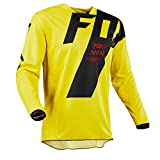 Fox Jersey 180 mastar, Yellow, tamaño XL