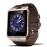 Padgene Smartwatch Armbanduhr Bluetooth Kamera kompatibel mit Android Samsung HTC