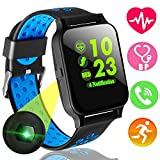 Xenzy Fitness Tracker Smart Watch Phone With Heart Rate Blood Pressure Monitor