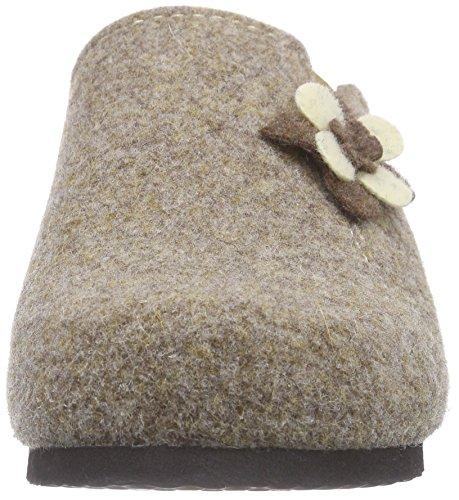 Dr. Brinkmann330125 - Pantofole con imbottitura leggera donna Marrone (Marrone (Braun))
