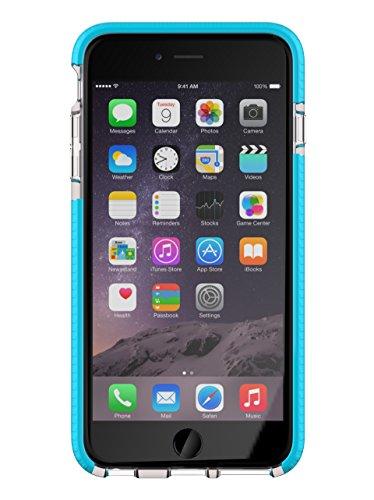 Tech21 Evo Mesh Sport Schutzhülle für iPhone 6 Plus, Transparent/Blau