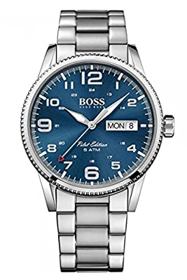 HUGO BOSS Men's Analogue Quartz Watch with Stainless Steel Bracelet - 1513329