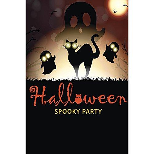 (KUSHEN 12x18 Zoll-Halloween-Garten-Flaggen-im Freien 100D Polyester-regendichter windundurchlässiger Garten-Dekor)