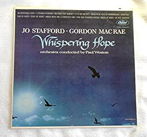 Freedb MISC / 9D12841D - Whispering Hope  Track, música y vídeo   de   Jo Stafford