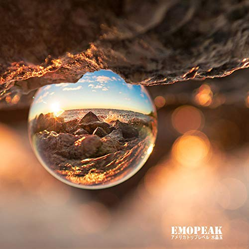 Emopeak Objektivkugel, 80 mm, Glas