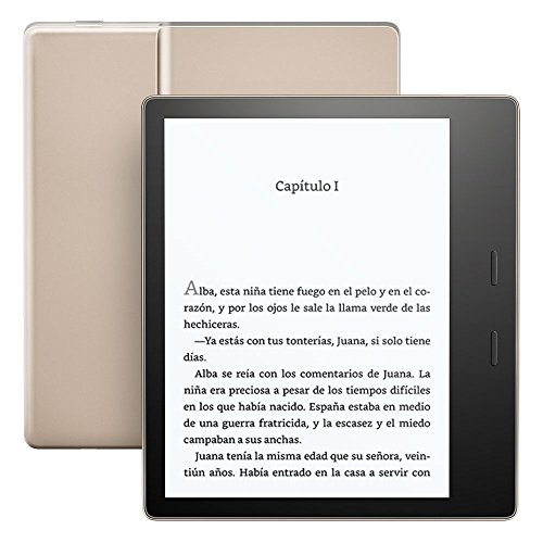 Nuevo e-reader Kindle Oasis - Dorado,...