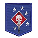 2AFTER1 MARSOC USMC Raiders Marines Morale Tactical Army Embroidery Touch Fastener Patch