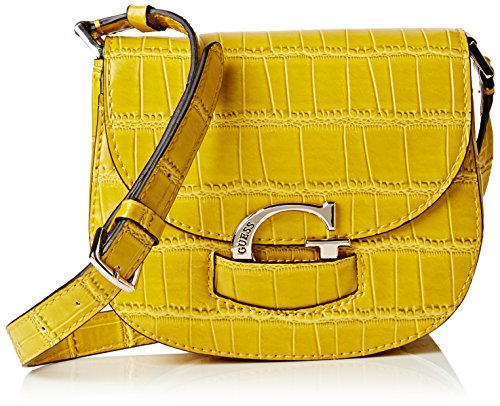 Guess-Damen-Lexxi-Crossbody-Saddle-Bag-Schultertasche-taglia-unica