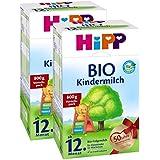 Hipp bébé bio lait - à partir du 12ème mois, 2-pack (2 x 800g)