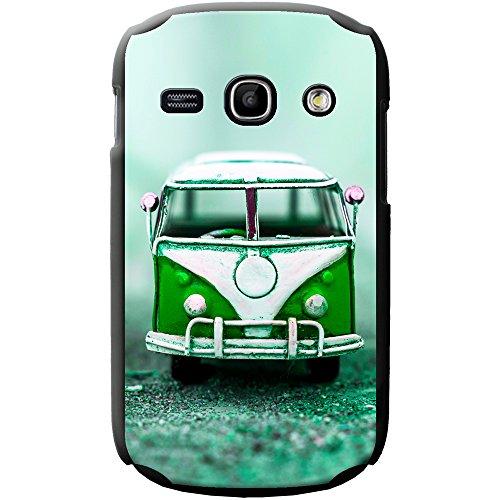Altes Wohnmobil Pop Art Hartschalenhülle Telefonhülle zum Aufstecken für Apple iPhone 6 PLUS / 6s PLUS Old Green Camper Van