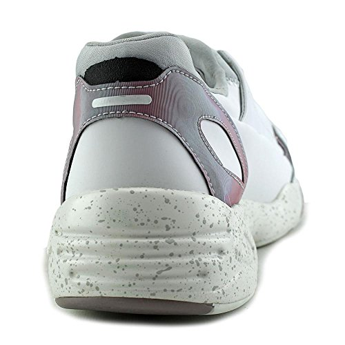 Alexander McQueen By Puma McQ Lace Up Cuir Baskets white-glacier gray-quail