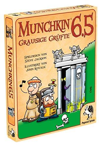 Pegasus-Spiele-17219G-Munchkin-65-Grausige-Grfte