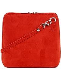 Primo Sacchi cuir Suede italien petit micro sac de carrosserie ou sac à bandoulière  sacs 3d9dcbe938f