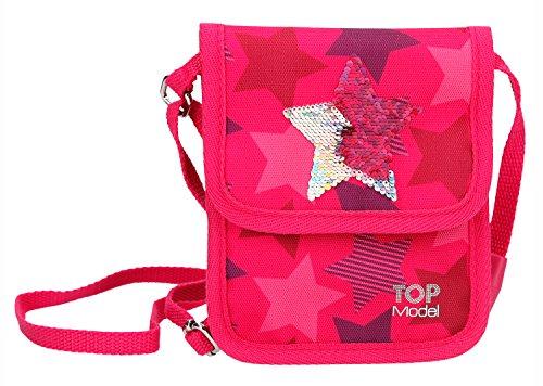 Depesche 10076 - Brustbeutel, TOPModel Stern, pink