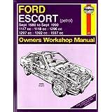 Ford Escort (Petrol) 1980-90 Owner's Workshop Manual