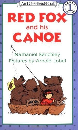 Red Fox and His Canoe (I Can Read Book 1) by Benchley, Nathaniel (1985) Paperback