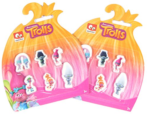 official-trolls-dreamworks-pk12-erasers-stationary-school-party-bags-christmas-gift-free-delivery
