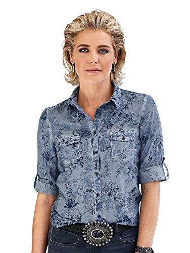 Damen Bluse aus reiner Baumwolle by MONA
