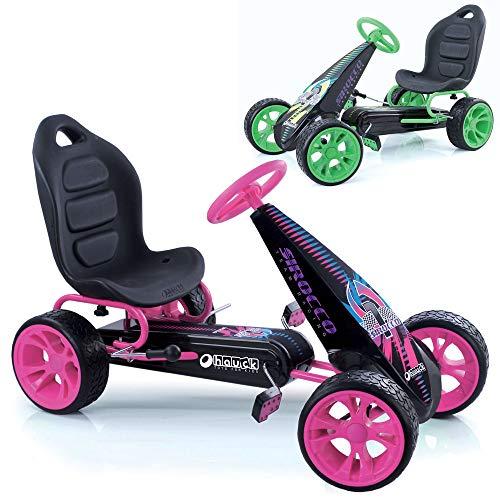 Hauck t90704Sirocco Go de Kart, Color Rosa