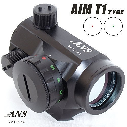 Preisvergleich Produktbild ANS OPtical lightweight and compact AIMPOINT type T1 Style Dot Sight Dutt site red green 5 stage adjustment (japan import)