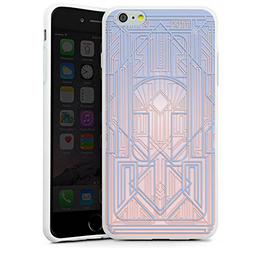 Apple iPhone X Silikon Hülle Case Schutzhülle Pastell Frühling Abstrakt Silikon Case weiß