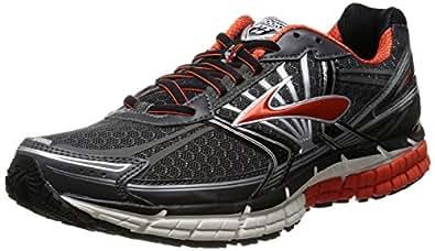 Brooks Men's Adrenaline GTS 14 Running Shoes 1101581D081 Black/Anthracite/Orange 8 UK, 42.5 EU, 9 US