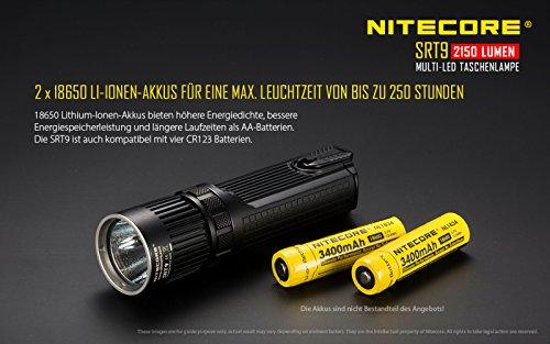 Nitecore SRT9 Taktische Taschenlampe - 7