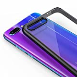 UKYuePai Huawei Honor 10 Coque,Étui Transparent Case PC Retour Rigide Honor 10 - Noir