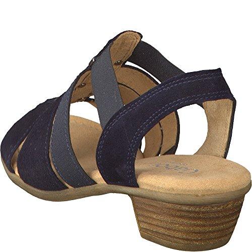 Gabor Damen Comfort Offene Sandalen mit Dunkelblau