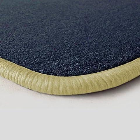 (Q312, bord au choix) passgenaue Tapis de sol en velours
