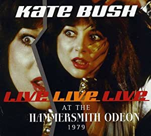 Kate Bush Live At Hammersmith Odeon Dvd