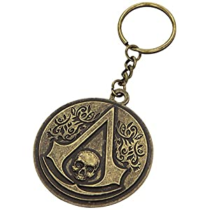 Assassins Creed 4 Schlüsselanhänger Metal Round