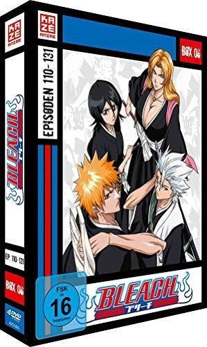 Bleach TV-Serie - Box 6 (Episoden 110-131) [4 DVDs]