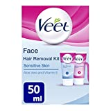 Veet Gesicht Haarentfernung Set - Sensitive Haut...