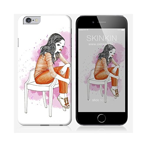 Sticker iPhone 5C de chez Skinkin - Design original : Wish and wear 30 par Manuela De Simone Coque iPhone 6 Plus et 6S Plus