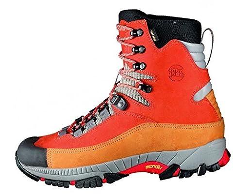 Hanwag Sky GTX, Gore-Tex® Gleitschirm-, Trekking- und Bergschuhe, Unisex, Farbe mango, Größe EU 47 (UK 12)