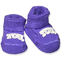 Two Feet Ahead NCAA TCU Horned Frogs Infant Gift Box Booties, One Size, Purple