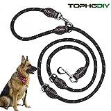 Premium Hundeleine Doppelleine 2m von TOPHGDIY für große Hunde 4