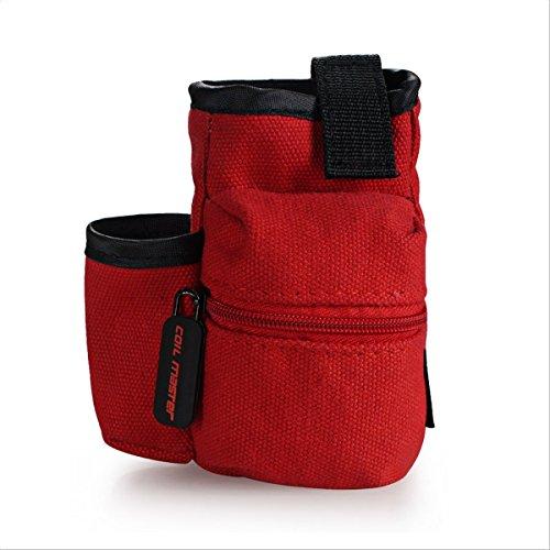 Original Coil Master Pbag, die Dampfertasche für den täglichen Einsatz Rot