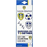 Leeds United FC Official Football Gift Tattoo Pack - A Great Christmas / Birthday Gift Idea For Men And Boys