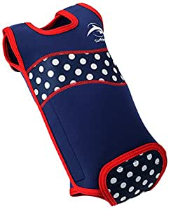 Konfidence Babywarma Baby Wetsuit - Polka Dot (0-6 Months)