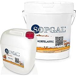 Mortelastic: Mortero elástico impermeabilizante - 20 kgs + 10 kgs