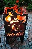 Feuerkorb Witch aus Edelstahl
