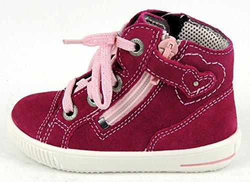 Superfit 0-00357-37 Moppy, chaussures premiers pas bébé pink