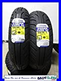 Paar Reifen Michelin Power Pure SC 120/80 – 14 150/70 – 13 Honda Silver Wing 600