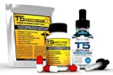 T5 Fat Burner Power Bundle : 28 x T5 Patches - 1 x T5 Capsules - 1 x T5 Serum XT